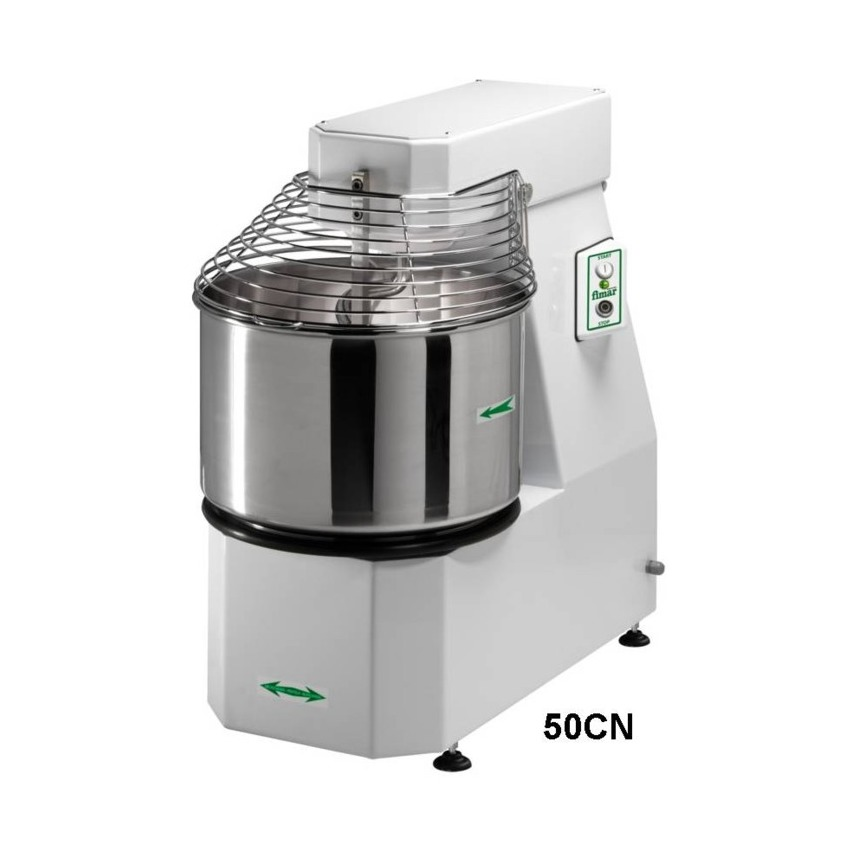 50/SN - Spiral Mixer - 62L fixed Bowl - 50KG - 2 Speeds & Timer
