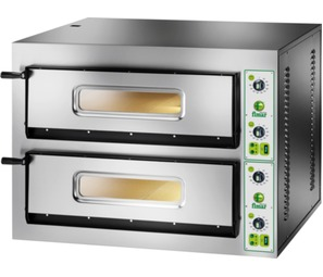 FYL/4+4 Electric Twin Deck Pizza Oven - 2 x 4 Pizzas @ 350mm