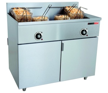 FFA2020 Electric Floor-standing Deep Fryer - Twin Tank - 2 x 20Ltr