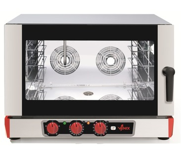 B04MV.16 BURANO Electric Convection Oven  with Steam Function - 4 x 600x400 / GN 1/1
