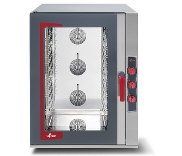 L10MUSV LIDO Electric Manual Bakery Combi Steam Oven - 10 660x460