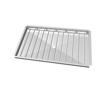 "GRP840  ""POLLO Grill"" Stainless Steel Grid to Grill 3 Open Chickens - GN1/1"