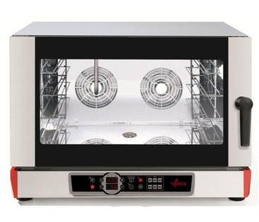 B04DV6.16  BURANO Electric Convection Oven - Digital Controlled & Steam Function  - 4 600x400 / GN 1/1